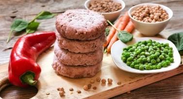 Improving juiciness of plant-based meat alternatives