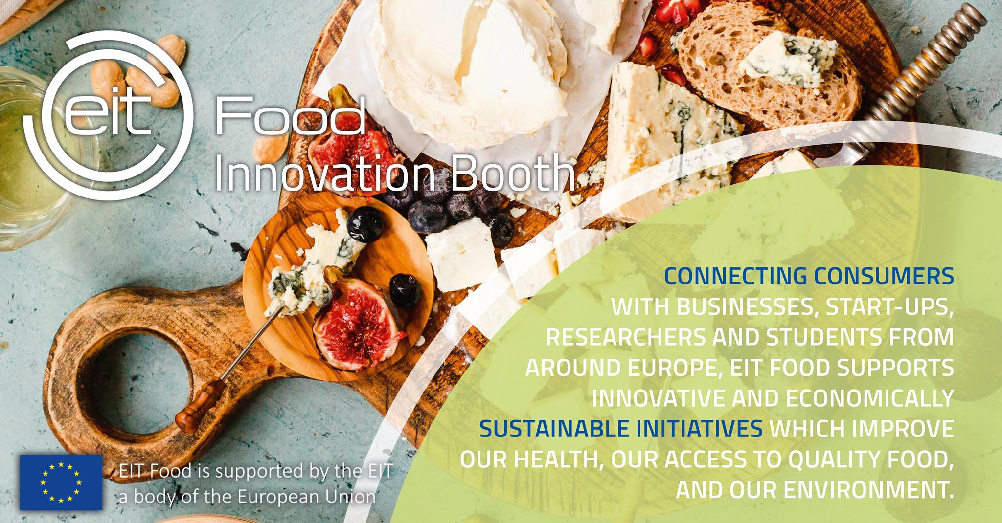 Expanding disruption with our 16 meter Food Innovation Booth