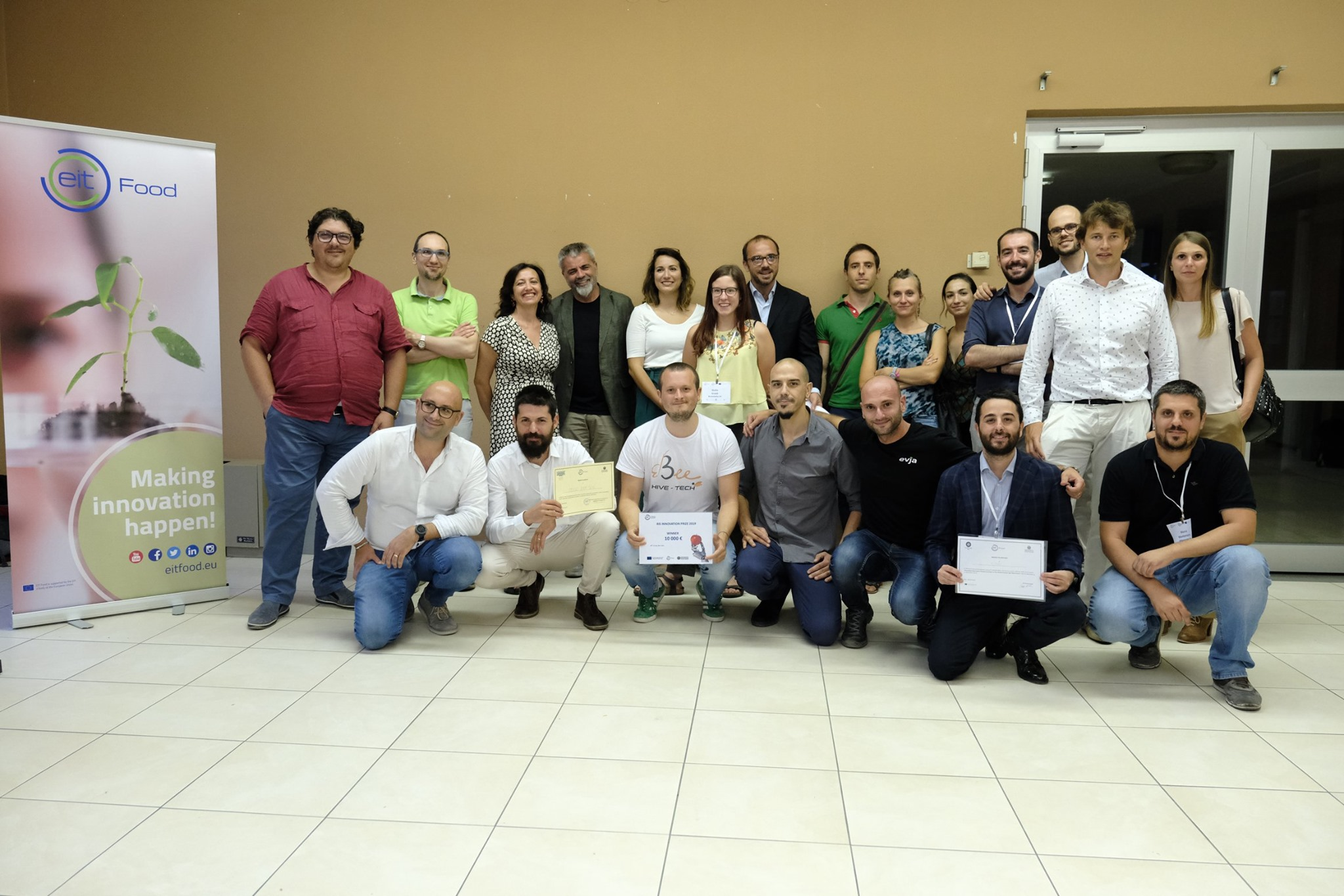 3bee and EvJa, the winning startups in the EIT Food Demo Day in Bari