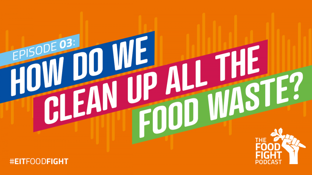 How do we clean up all the food waste?