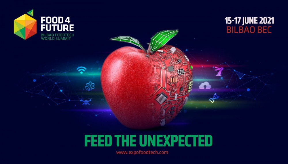Bilbao will host Food 4 Future World Summit, the most innovative event to transform the food and beverage industry