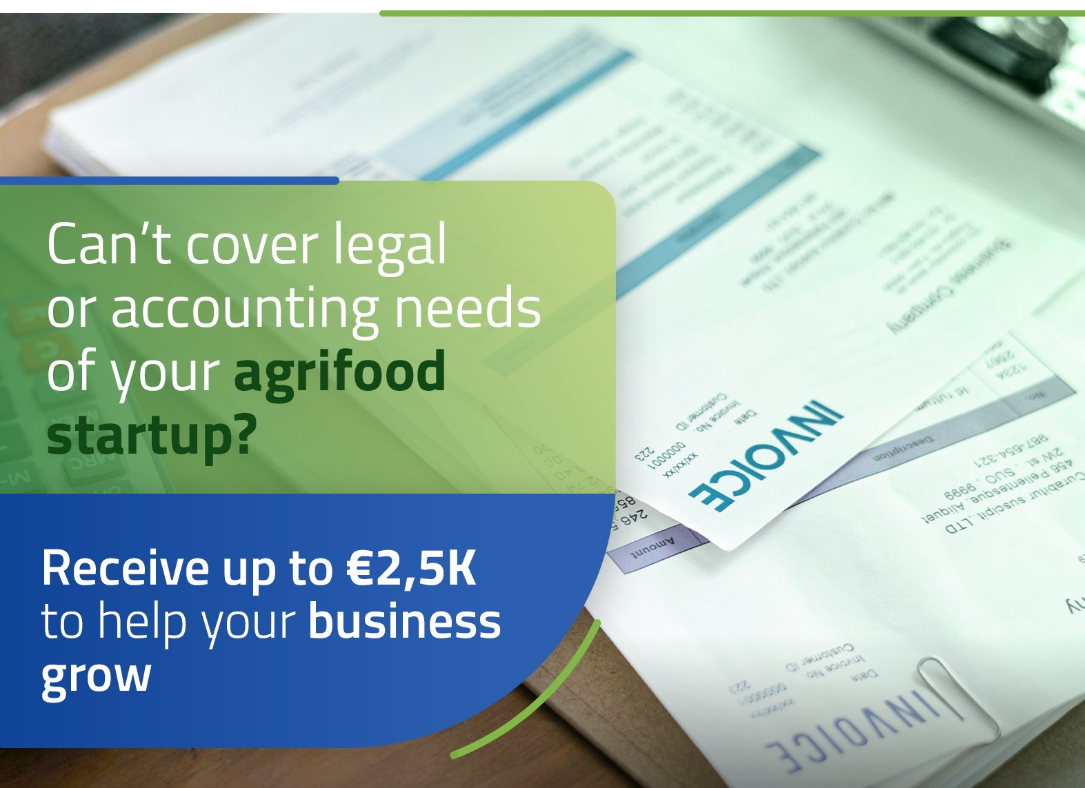 Startups offered help with legal and accounting costs