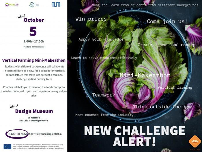 October 5th event: Mini-Makeathon