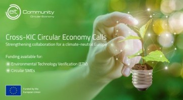 EIT Community launches Cross-KIC Circular Economy calls