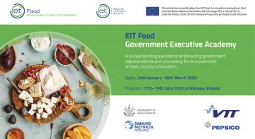 EIT Food Government Executive Academy 2020