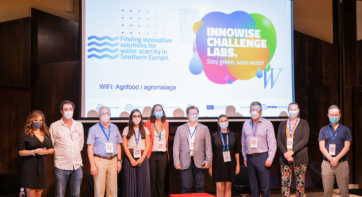 A smart irrigation platform wins the 'Innowise Challenge Lab' in Spain