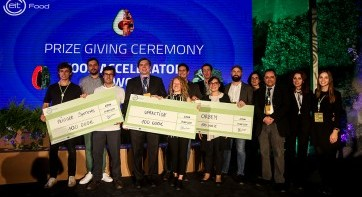 Winners announced for EIT Food Accelerator Network Programme