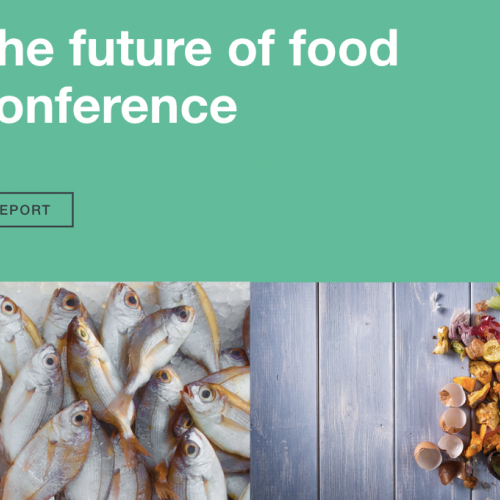 How can we improve the future of food together?