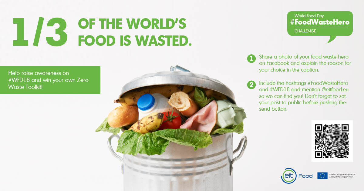 World Food Day #FoodWasteHero challenge