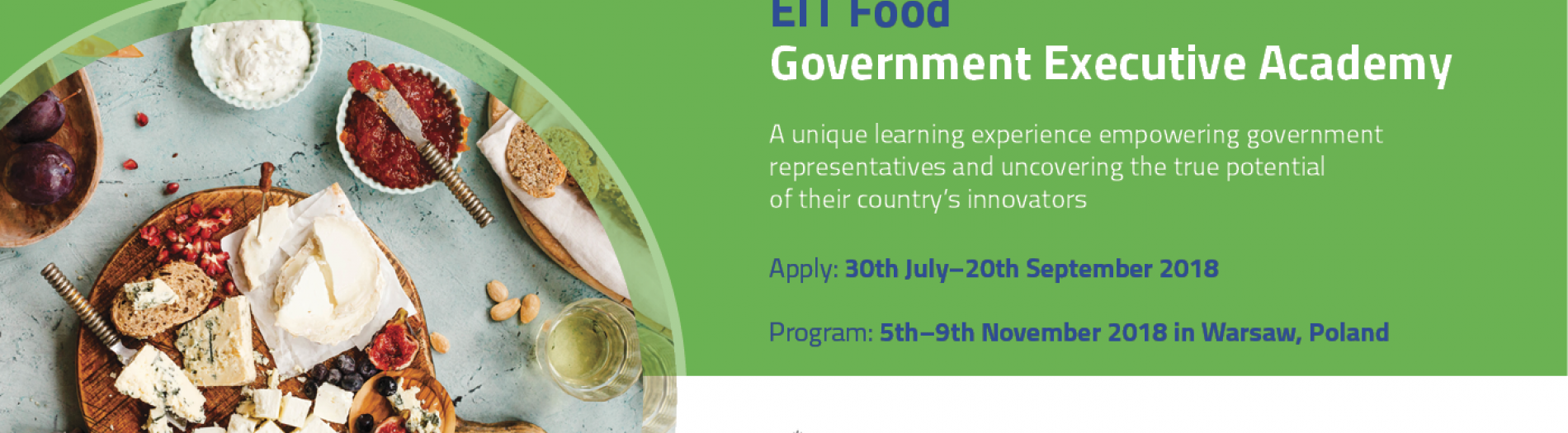 EIT Food Government Executive Academy