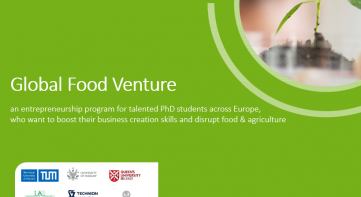 Global Food Venture program 2018