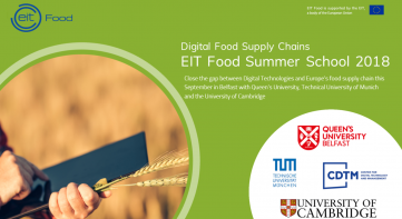 EIT Food Summer School 2018 on Digital Food Supply Chains
