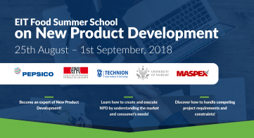 EIT Food Summer School on New Product Development